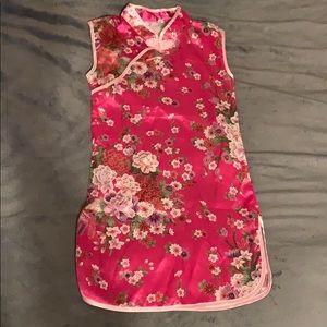 Chinese theme dress